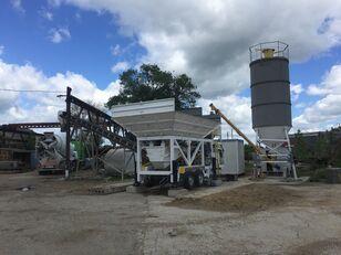 новый бетонный завод CONMACH MobKing-30 Mini Mobile Concrete Batching Plant - 30 m3/h
