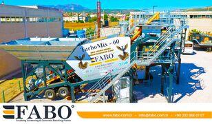 новый бетонный завод Fabo TURBOMIX 60 МОБИЛЬНАЯ БЕТОНОСМЕСИТЕЛЬНАЯ УСТАНОВКА