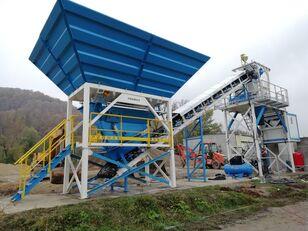 новый бетонный завод PROMAX Compact Concrete Batching Plant C60-SNG-PLUS (60m3/h)