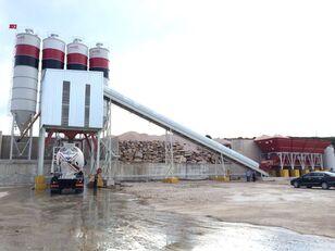 новый бетонный завод PROMAX STATIONARY Concrete Batching Plant S160-TWN (160m3/h)