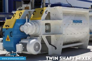 новая бетономешалка PROMAX 2 m3 /3 m3 TWIN SHAFT MIXER