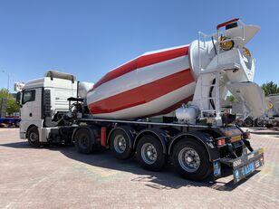 новый полуприцеп бетоносмеситель ALIM mixer semi trailer concrete mixer semi-trailer